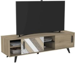 Young Furniture Tv-meubel Helsinki 151 cm breed - Kronberg eiken