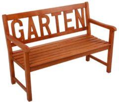 Garden Pleasure Gartenbank Eukalyptus Holz Parkbank Bank Sitzbank Möbel braun