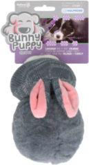Bunny Puppy Puppy Chubby - Hondenspeelgoed - 23x13x9 cm Grijs Roze