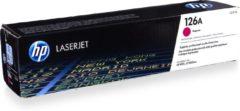 HP 126A LaserJet originele toner cartridge magenta standard capacity 1.000 paginas 1-pack