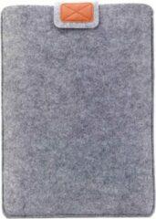 MoKo M321 Sleeve 13 inch stevige laptop hoes van grijs vilt maat 13 inch - Macbook hoes 13 inch - Laptop case - Bescherming van uw laptop