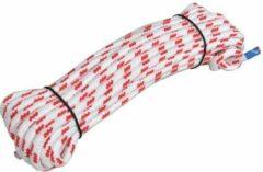 Rode Seilflechter Yachtschot touw, Novoleen, 10mm, 15m, 800 daN, wit