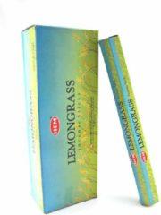 Blauwe Mountain-giftshop Lemongrass - Lemon grass wierook (HEM) Los pakje a 20 stokjes