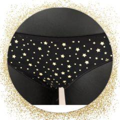 Gouden Merkloos / Sans marque DICE Dames Bikini Slip ster 2-Pack S / 2e verrassingspakje GRATIS