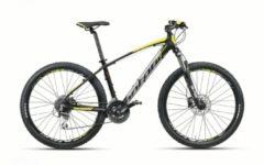Montana Bike 27,5 ZOLL MONTANA URANO MOUNTAINBIKE ALUMINIUM 24 GANG MTB Hardtail Herren schwarz-gelb