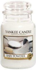 Witte Yankee Candle Świeca YANKEE słoik duży Baby Powder