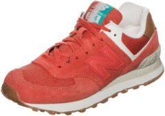 Rosa New Balance WL574-SEA-B Sneaker Damen