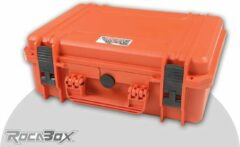Rocabox - Universele koffer - Waterdicht IP76 - Oranje - RW-4229-16-OF - Plukschuim