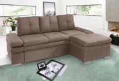 Cotta Polsterecke mit Recamiere, Sitztiefenverstellung und wahlweise mit Bettfunktion