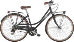 28 Zoll Damen City Fahrrad 7 Gang Alpina... schwarz