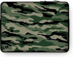"DuckZip Laptophoes 13 inch – Macbook Sleeve 13"" - Camouflage N°3"