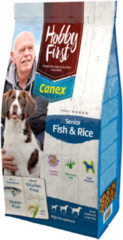 Hobbyfirst Canex Hobby First First Canex Senior - Vis & Rijst - Hondenvoer - 12 kg