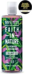 Faith In Nature Shampoo Lavender/Geranium (400ml)