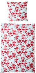 Wendebettwäsche Kirschblüte miaVILLA weiß/rot