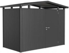 Biohort Panorama® P1 donkergrijs metallic 1 deurs - 273 x 158 x 227 cm