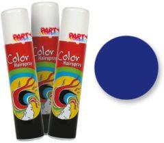 Fantasy Make up Blauwe Gekleurde Haarspray - Fantasy Make-up 75ml