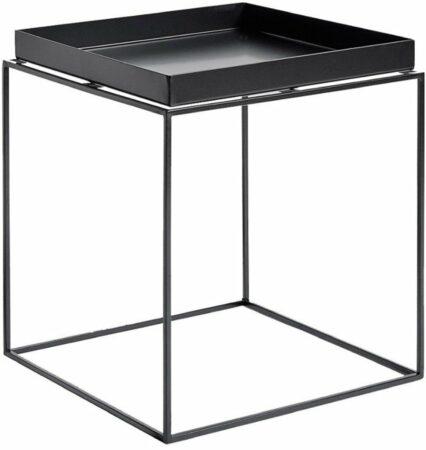 Afbeelding van Zwarte Hay Tray Table salontafel zwart medium