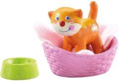 Little Friends poppenhuispop Kat Kiki meisjes 5 cm oranje