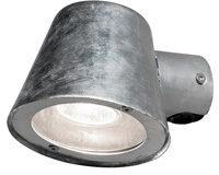 Afbeelding van Konstsmide - Buitenlamp Trieste 230V wandarmatuur downspot 11.5cm, GU10 max 35W (niet meegeleverd), gegalvaniseerd staal