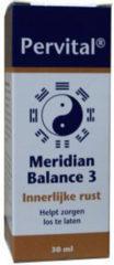 Pervital Meridian Balance 3 Innerlijke Rust 30 ml