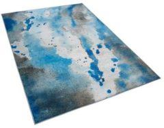 Blauwe Beliani Bozat Vloerkleed Polyester 140 X 200 Cm