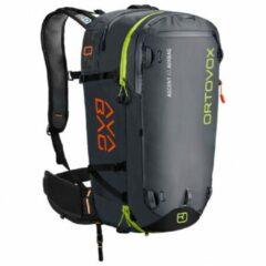 Antraciet-grijze Ortovox Ascent 40L Avabag Without AVABAG Unit Backpack zwart