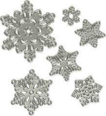 Zilveren Creotime Snijmallen, d: 11,2x12,8 cm, 1 stuk