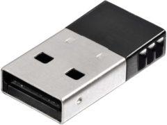 Zilveren Hama 00053188 netwerkkaart & -adapter Bluetooth 3 Mbit/s