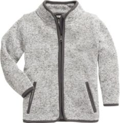 Playshoes Fleecejack Knit Fleece Junior Grijs Maat 92