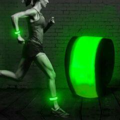 Running Geeks LED Running Armband Neon Groen