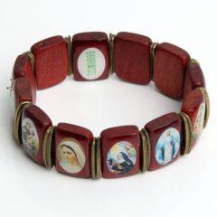 Bruine Dames armband BBBrasil Hout Bruin