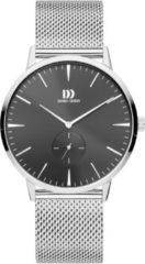 Zilveren Danish Design watches edelstalen herenhorloge Akilia Second Black Mesh IQ63Q1250