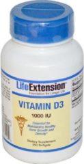 Vitamine D3 1000 IU (250 gelcapsules) - Life Extension