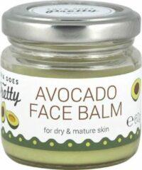 Zoya Goes Pretty Facial Care Avocado Face Balm Balsem Droge/rijpere Huid 60gr