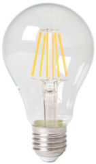 Getsales Calex standaardlamp LED filament 8W (vervangt 80W) grote fitting E27 helder
