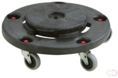 Brute Dolly Rubbermaid, Zwart