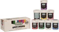 Paarse BrandNewCake Eetbare voedingskleurstof Gel Assortiment (8x 35gr)