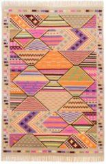 Teppich, »Kelim Royal 3«, Theko, rechteckig, Höhe 5 mm, handgewebt