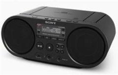 Sony ZS-P50 Radio/CD-speler FM USB Zwart