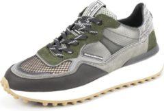 Floris van Bommel 16308 Sneakers men Maat: 41 (7+) groen 01 darkgroen leather