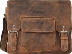 Green Burry Greenburry Vintage Revival Tasche 1911 Sattelbraun Umhängetasche