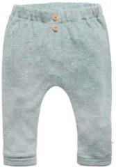 Moodstreet Petit baby gemêleerde regular fit broek Matt groen
