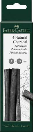 Afbeelding van Zwarte Houtskool Faber-Castell Pitt Monochrome 9-15 mm op blister