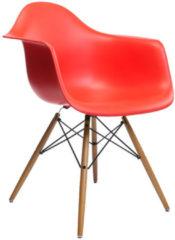 DAW Eames Plastic Armchair - rot - Sitzhöhe 41 cm