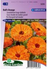 Sluis Garden Goudsbloem hoge dubbele bloemzaden - Ball's Orange