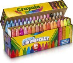 Crayola Stoepkrijt - 64 Stuks