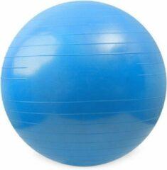 Matchu Sports Fitnessbal - Ø 75 cm - Blauw