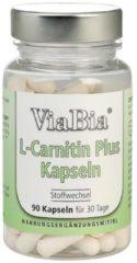 ViaBia L-Carnitin Plus Chrom Kapseln 90 Kapseln
