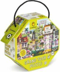 Ludattica Ludaticca Puzzels: PARIJS Grand tour puzzel 23x23cm, 150-delig, 70x50cm, 5+