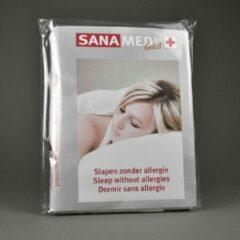 Witte Sanamedi Gold matrashoes 90x210x6 t/m 10 cm - anti allergie